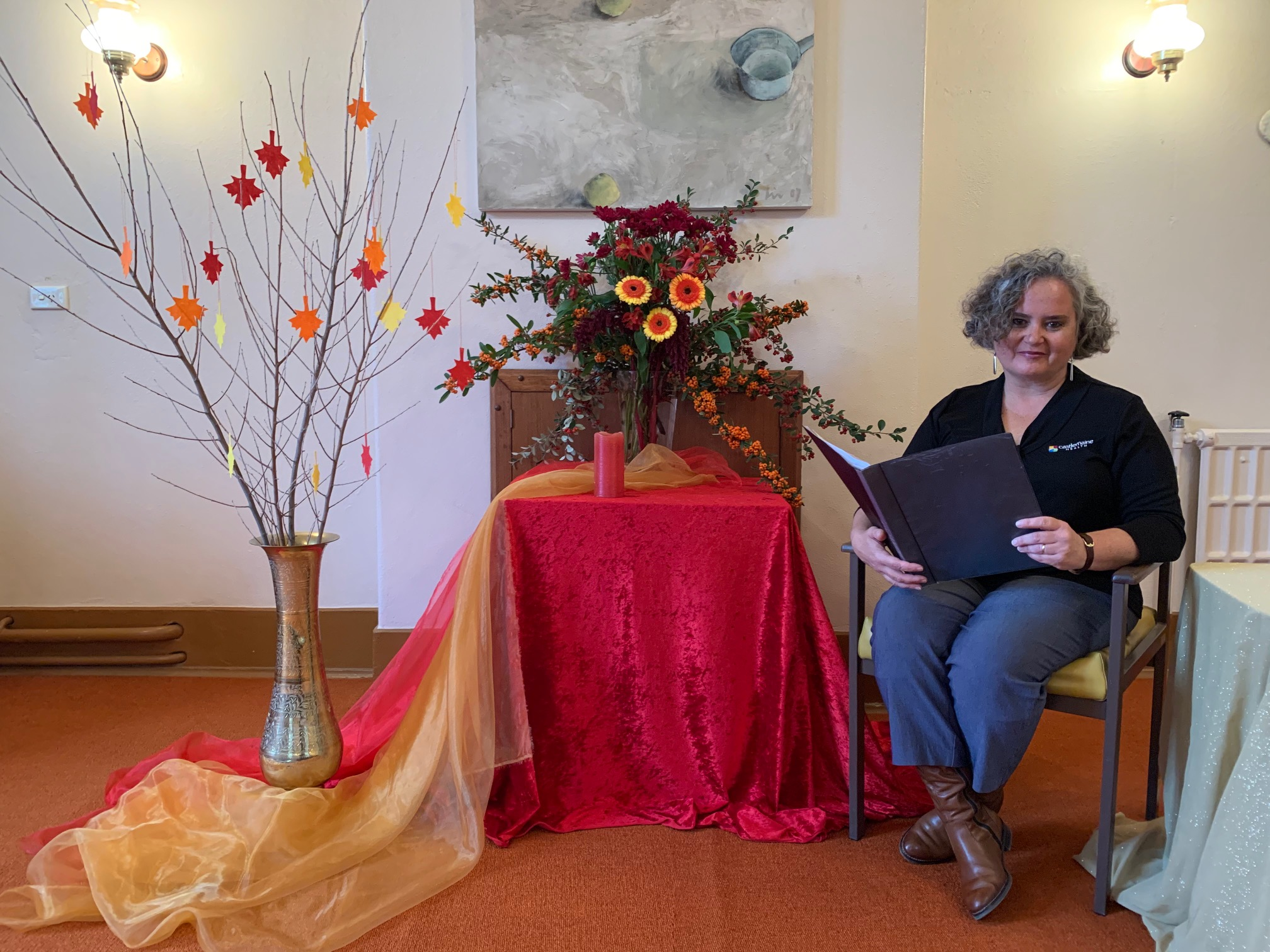 Pastoral Care Coordinator at Castlemaine Health Danni Moore invites local community members to view their online Remembrance Service of Reflections and Memories and pause and remember those beloved community members who have passed.