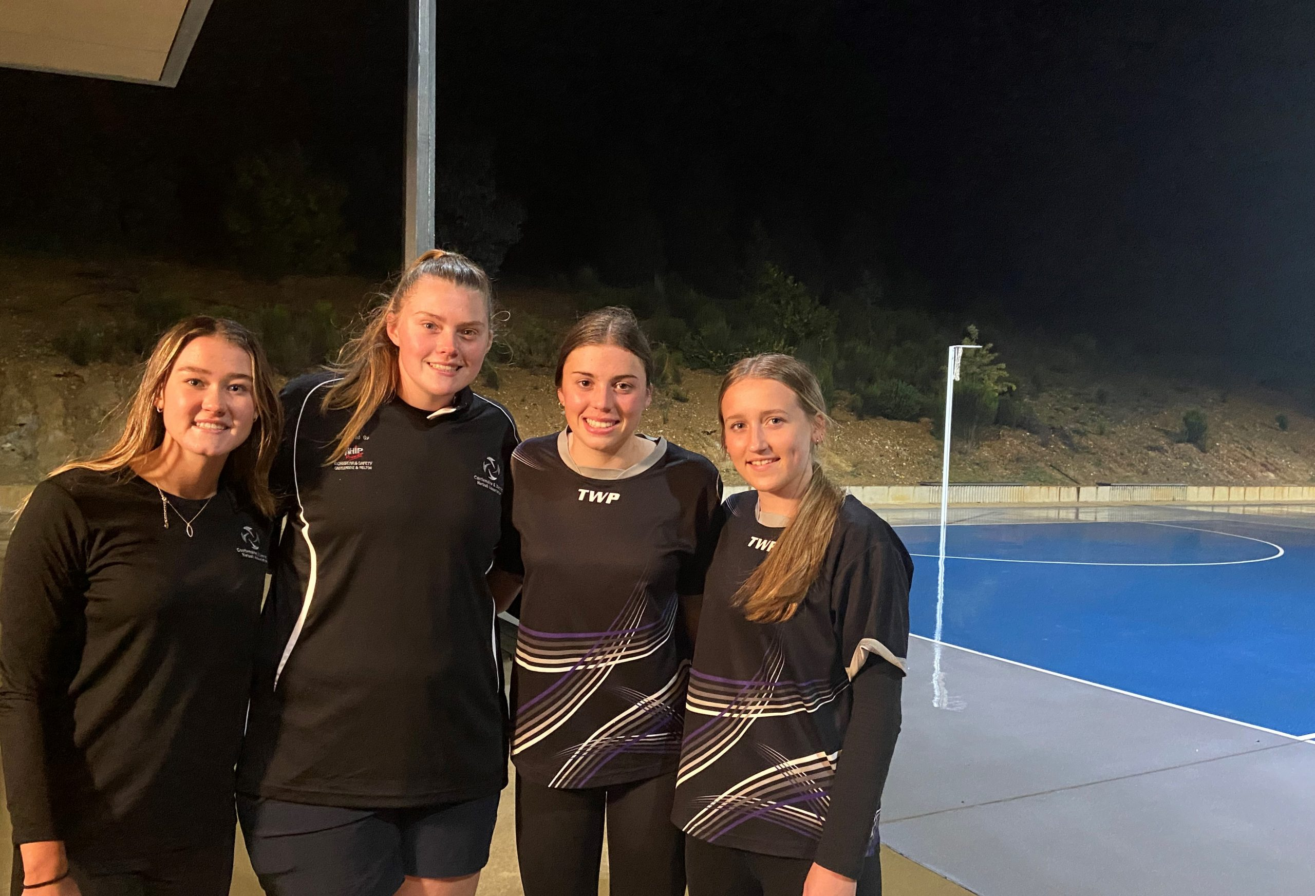 CDNA development squad members Shae Clifford, Eliza Oxley, Megan Wilson and Paige Langley have been selected to represent the North Central region at the state titles.